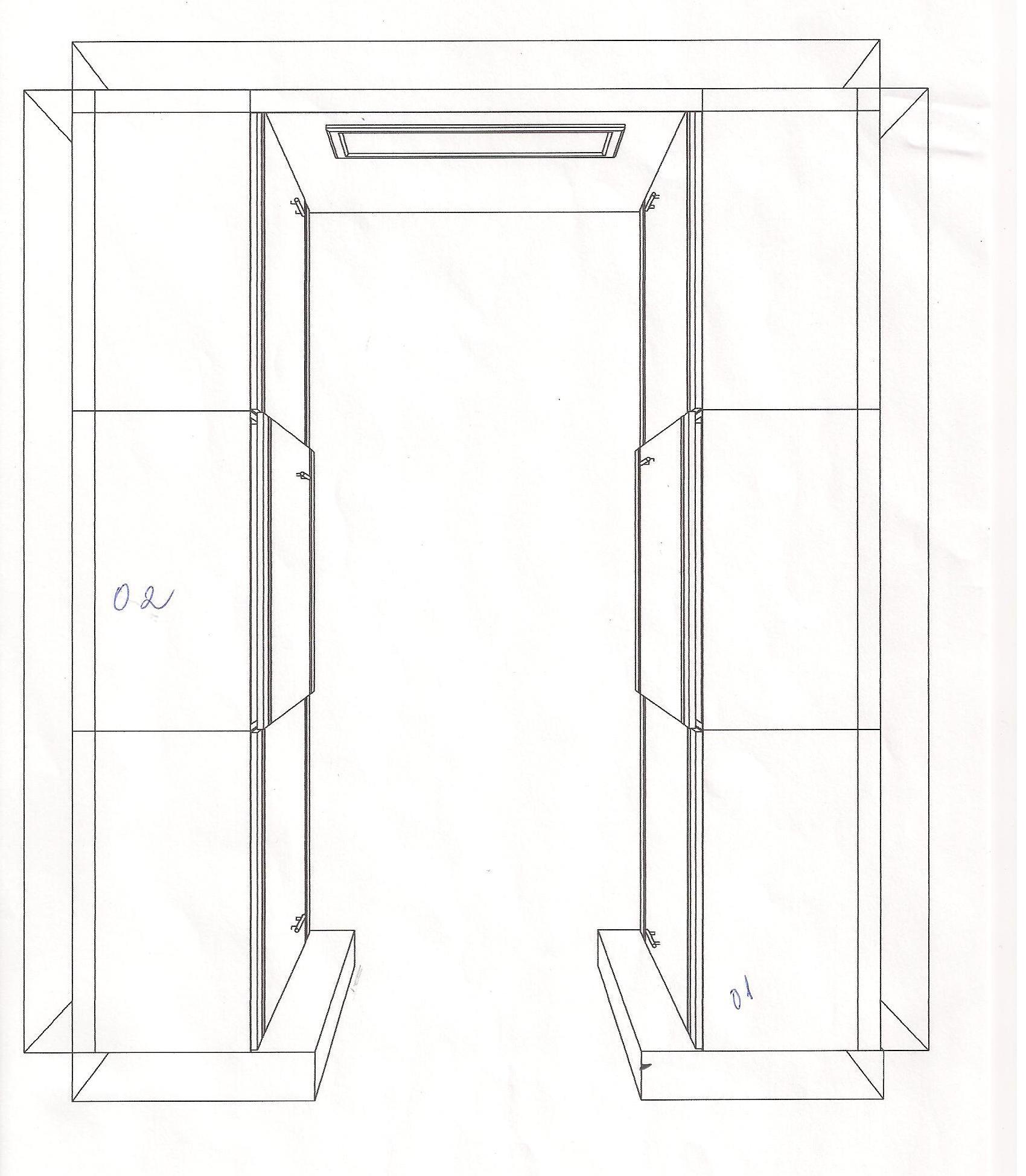 a planta baixa do meu closet  Blog da Reforma -> Planta Baixa De Banheiro Com Banheira E Closet