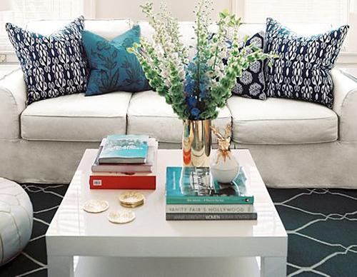 mesa centro  branca